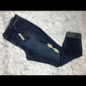 Sts blue ankle distressed jeans NWT